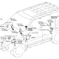Toyota Land Cruiser Prado 120 Wiring Diagram Rheem Furnace Pradogrj120l Gkfgk Electrical