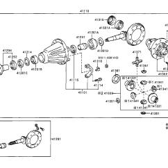 2006 Toyota 4runner Parts Diagram Floor Lamp 4runnervzn185l Gkpgk Powertrain Chassis Rear