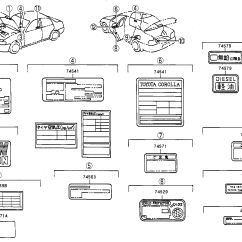 Toyota Corolla Parts Diagram Spatial Of Fast Food Interior Auto