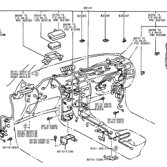 Toyota Corolla Parts Diagram Yamaha G14 Wiring Genuine Auto