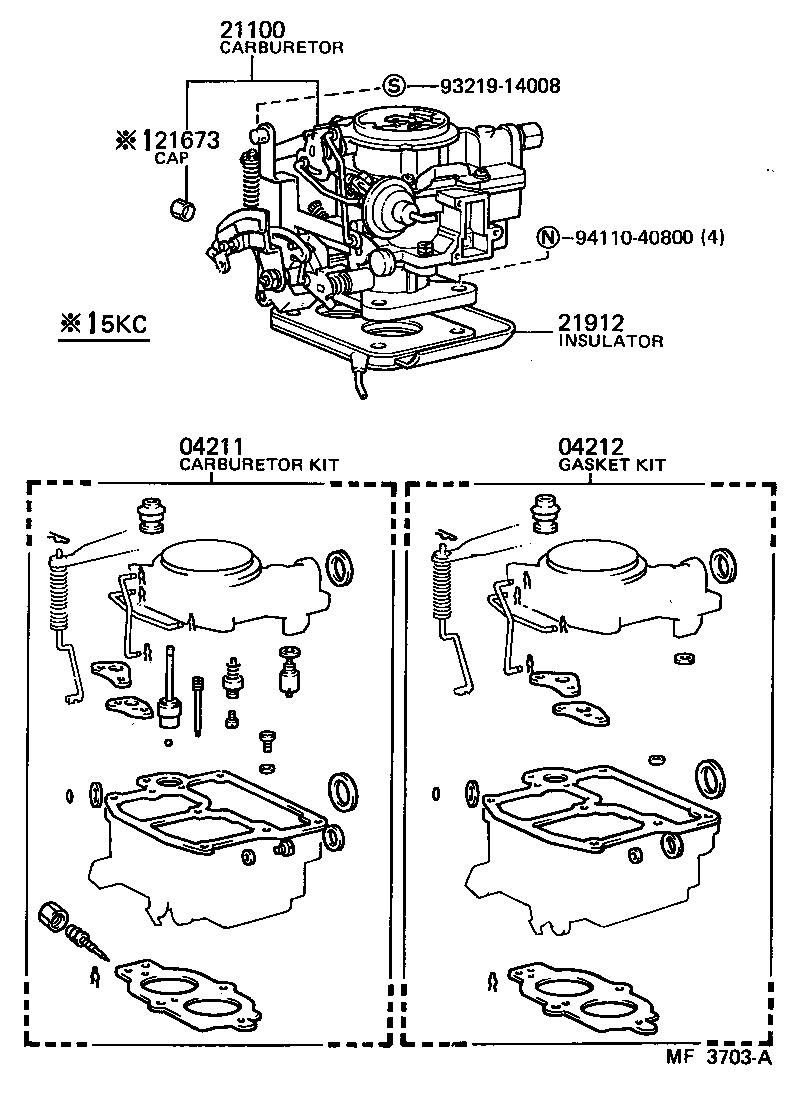 WIRING Toyota 4k Engine Diagram Full HD version
