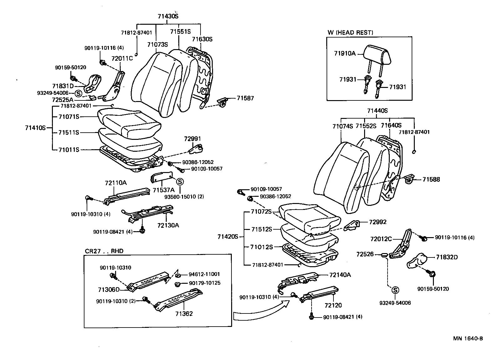 Toyota Liteace Van Wagonyr21lg Mds