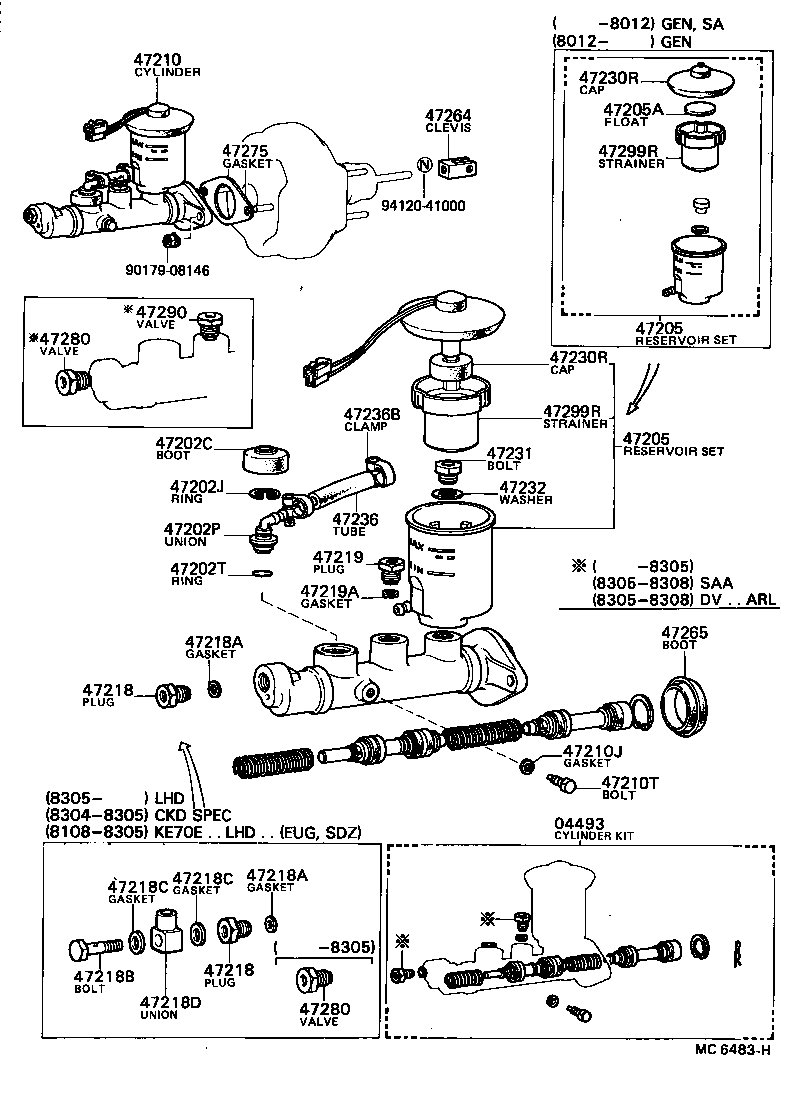 Fuse Box Diagram 1992 Toyota Dyna Auto Electrical Wiring Related With