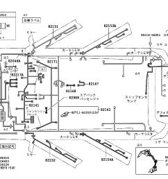 toyota bbqnc25 bhsxk electrical wiring clamp japan parts eu std part [ 1592 x 1099 Pixel ]