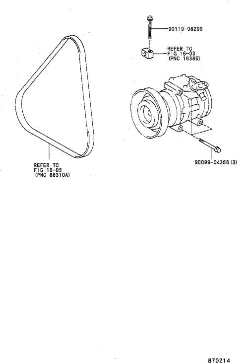 small resolution of caldina heating air conditioning compressor