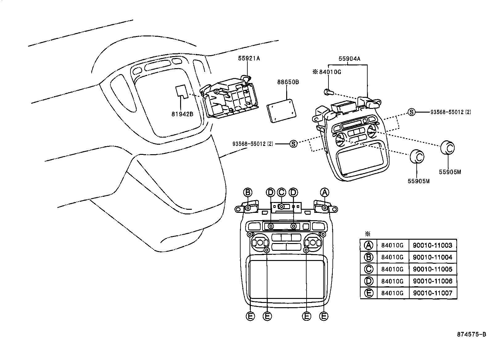 Toyota Kluger L Vmcu20w Bwagk