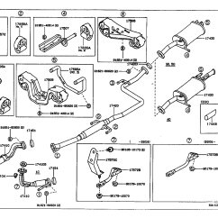 Toyota Corolla Parts Diagram Outlet Wiring Series Multiple Gfci 1995 Exhaust System Html