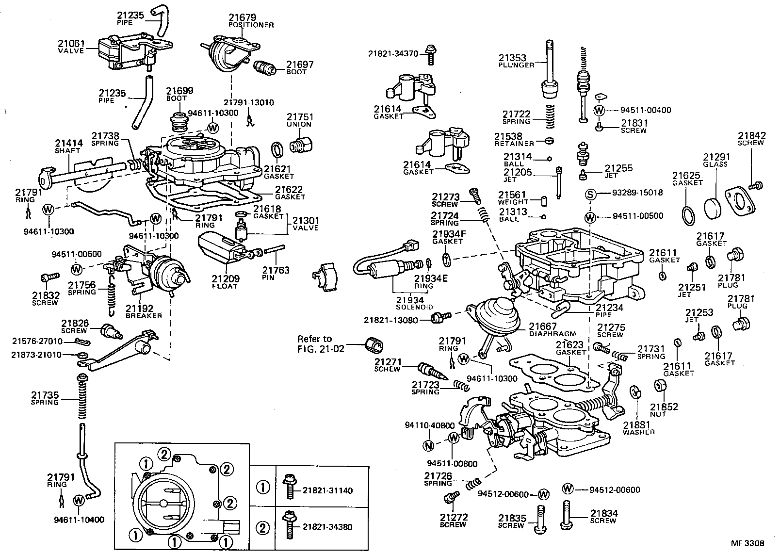1989 Toyota Corolla Carburetor Diagram Http