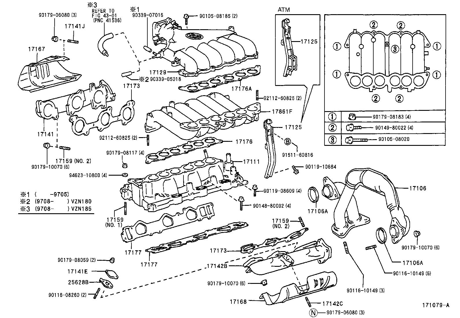 Toyota 4runnervzn185l Gkmgka