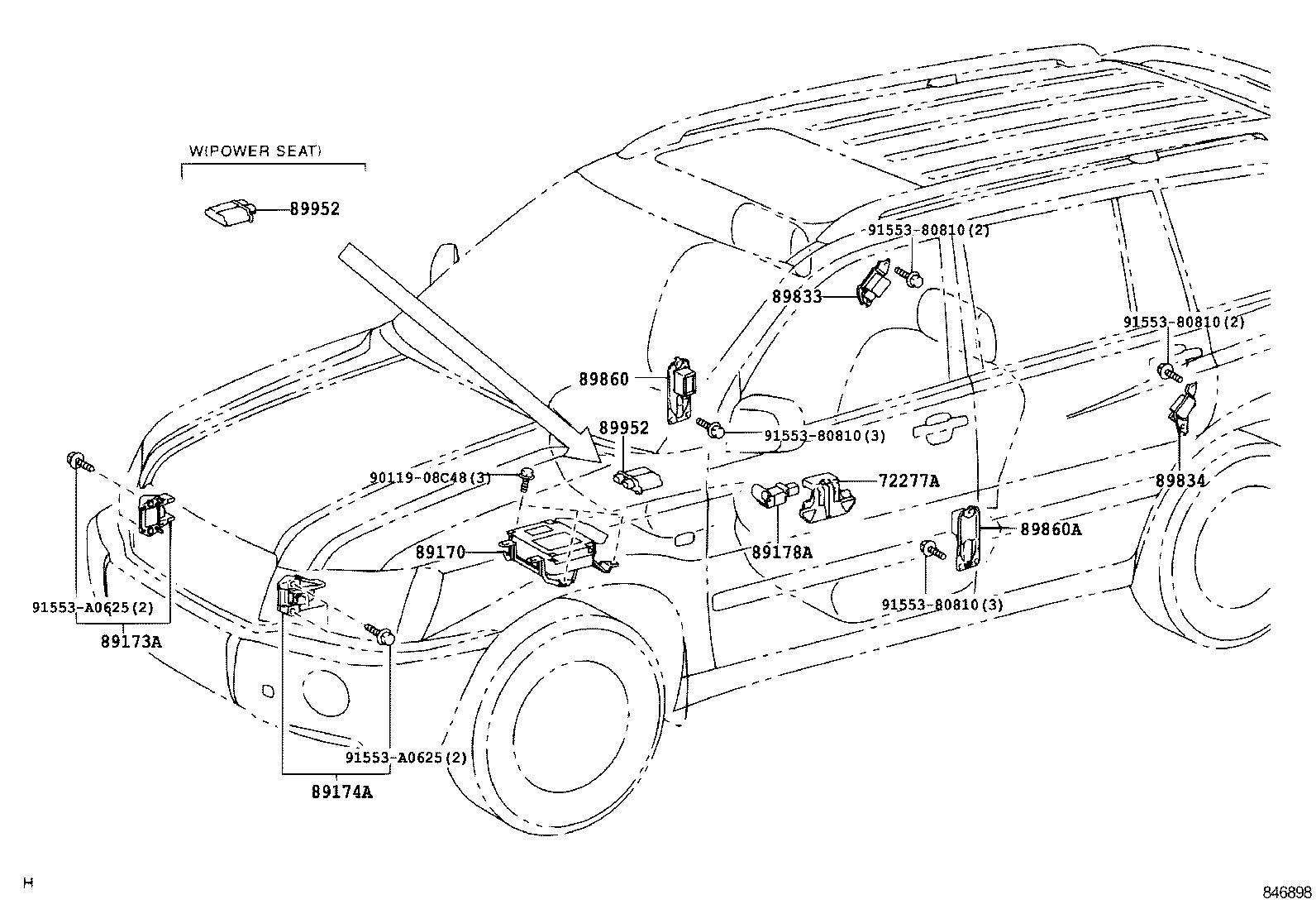 Toyota Highlander Hvmhu23l Brxnka