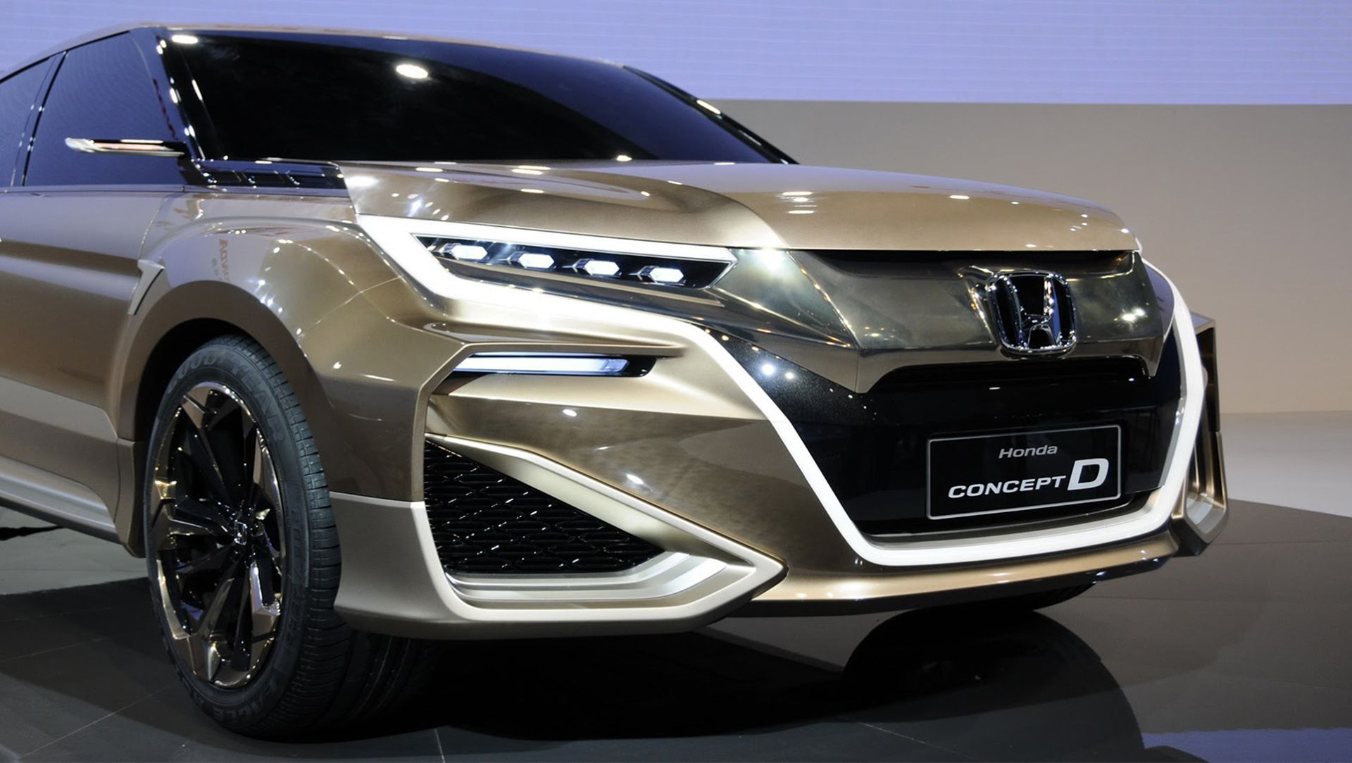 hight resolution of  honda new concept d at shanghai auto show 2015