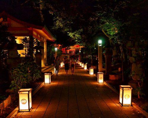 Enoshima Lantern Festival