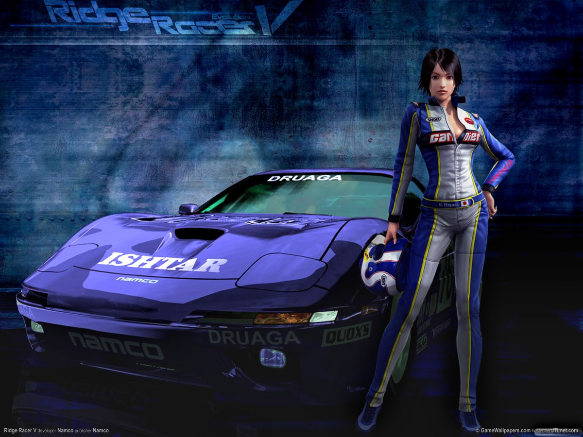 Ridge Racer Itasha Coming To Vita