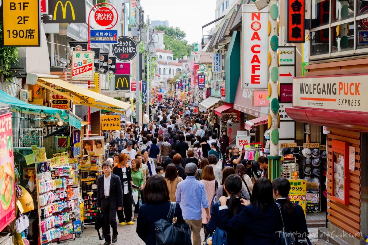 Lucky Bag Shopping In Tokyo