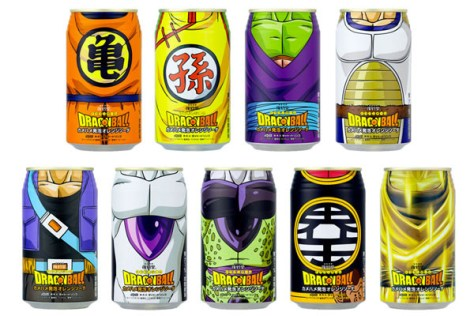 dbz drinks 7 art