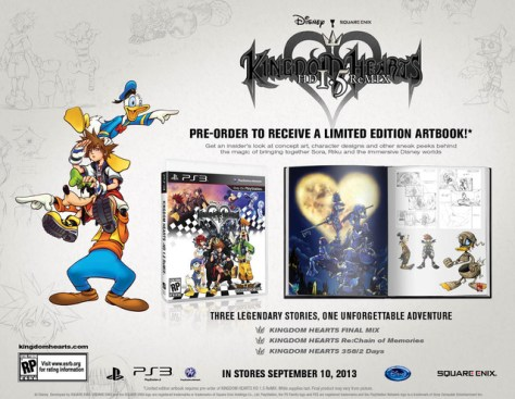kingdom hearts offer