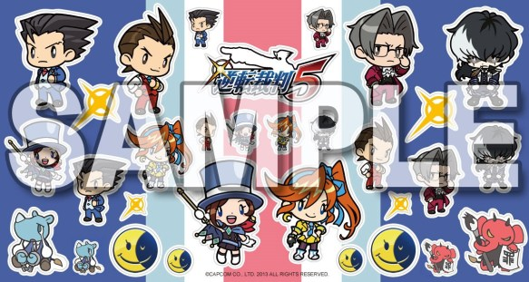 ace attorney chibi stickers