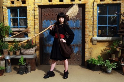 Fuka Koshiba as Kiki, 13 years old