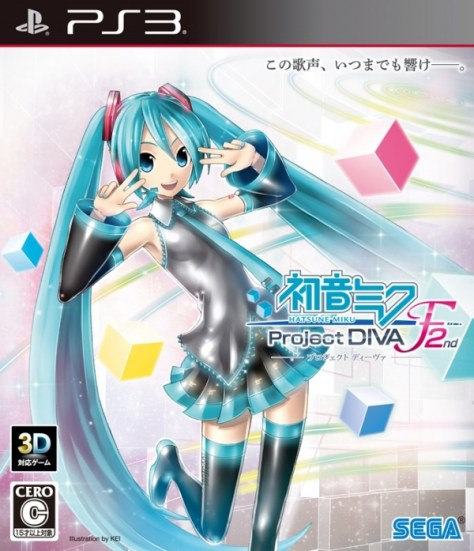 Hatsune Miku Project Diva F 2nd PS3 version