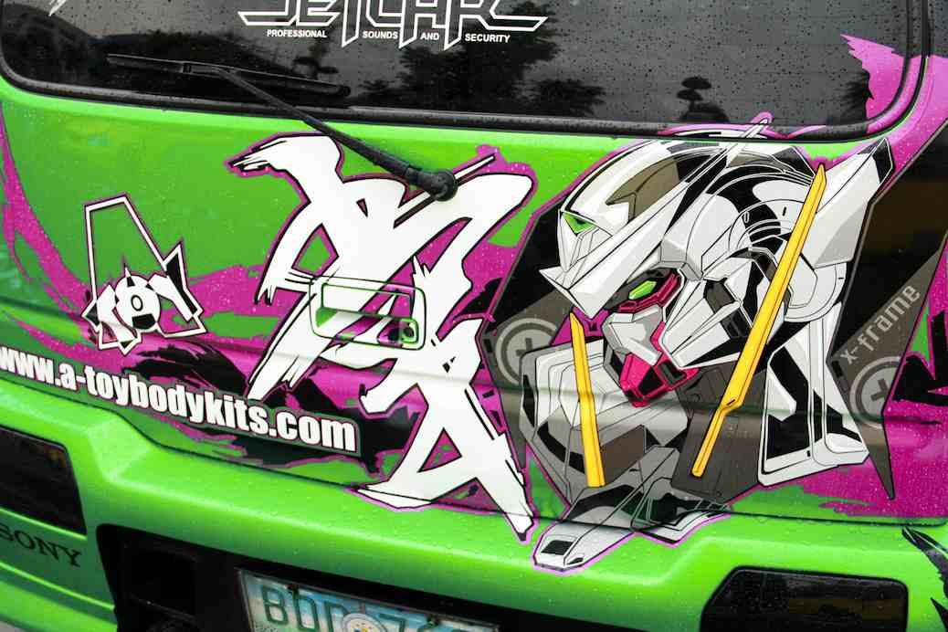 World Cosplay Summit Shows Off Itasha Cars
