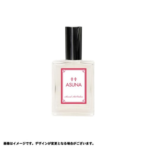 The Asuna fragrance was made with galbanum, lemon, and apple above rose, jasmine, muguet and violet above music and cedar.