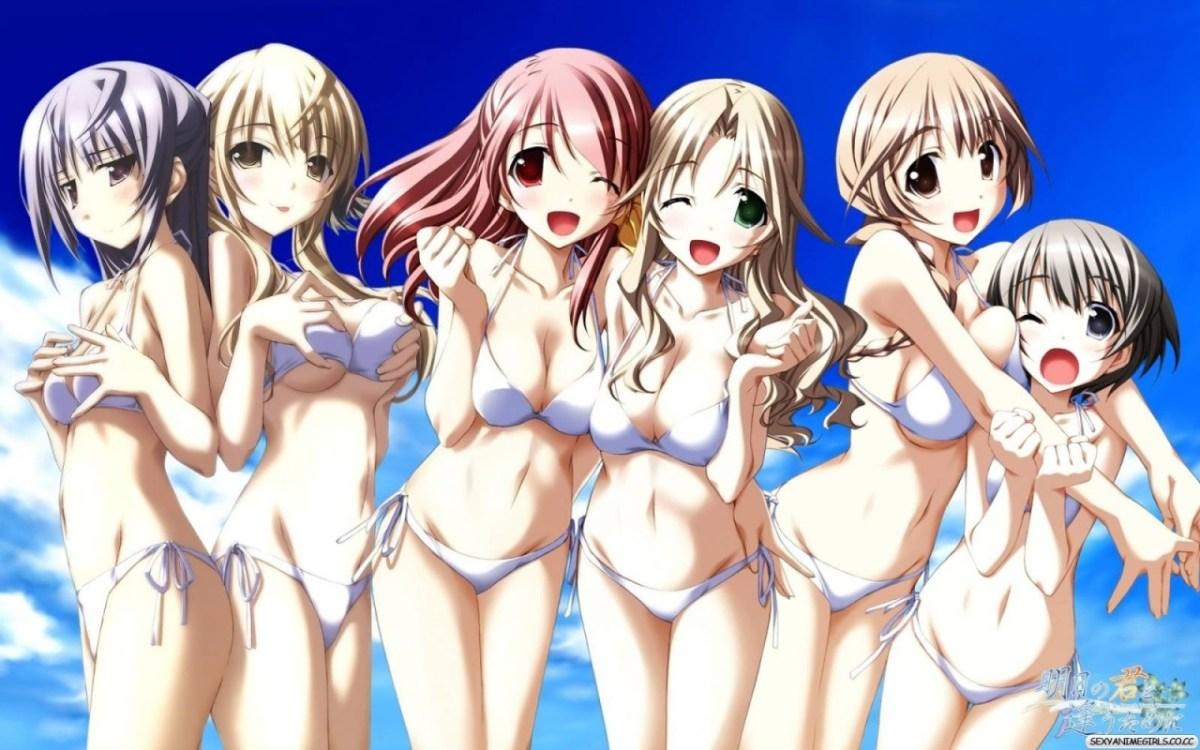 18 Hottest Anime Bikini Girls