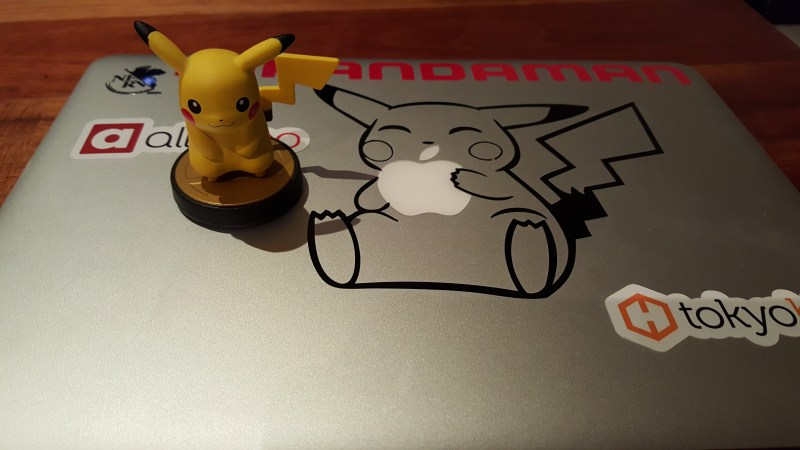 Pikachu Macbook