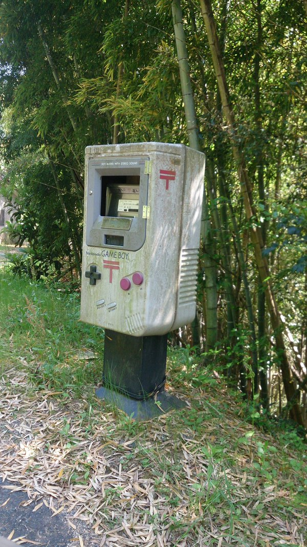 gameboy mailbox