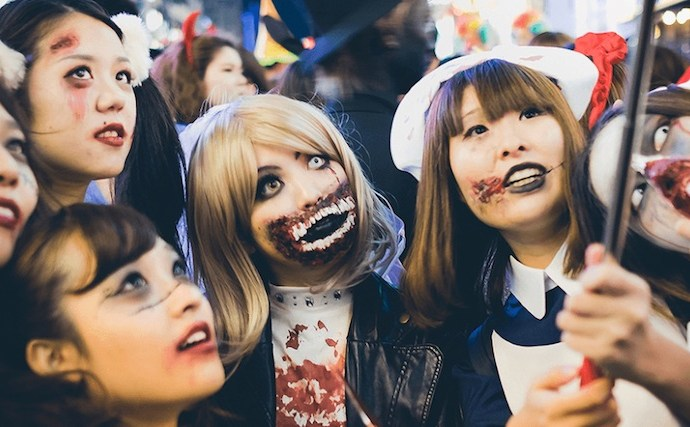 Halloween In Japan 2017 | Japandaman