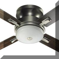 Japanese Style Lighting - Shiga Ceiling Hugger Fan