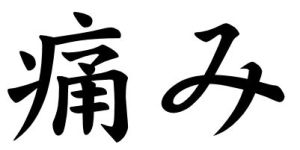Japanese Word for Pain
