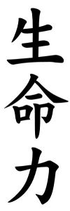 Japanese Word for Vitality