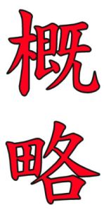 Japanese Word for Outline