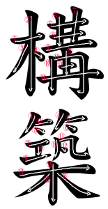 Japanese Word for Construction