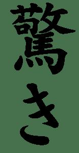 Japanese Word for Astonishment