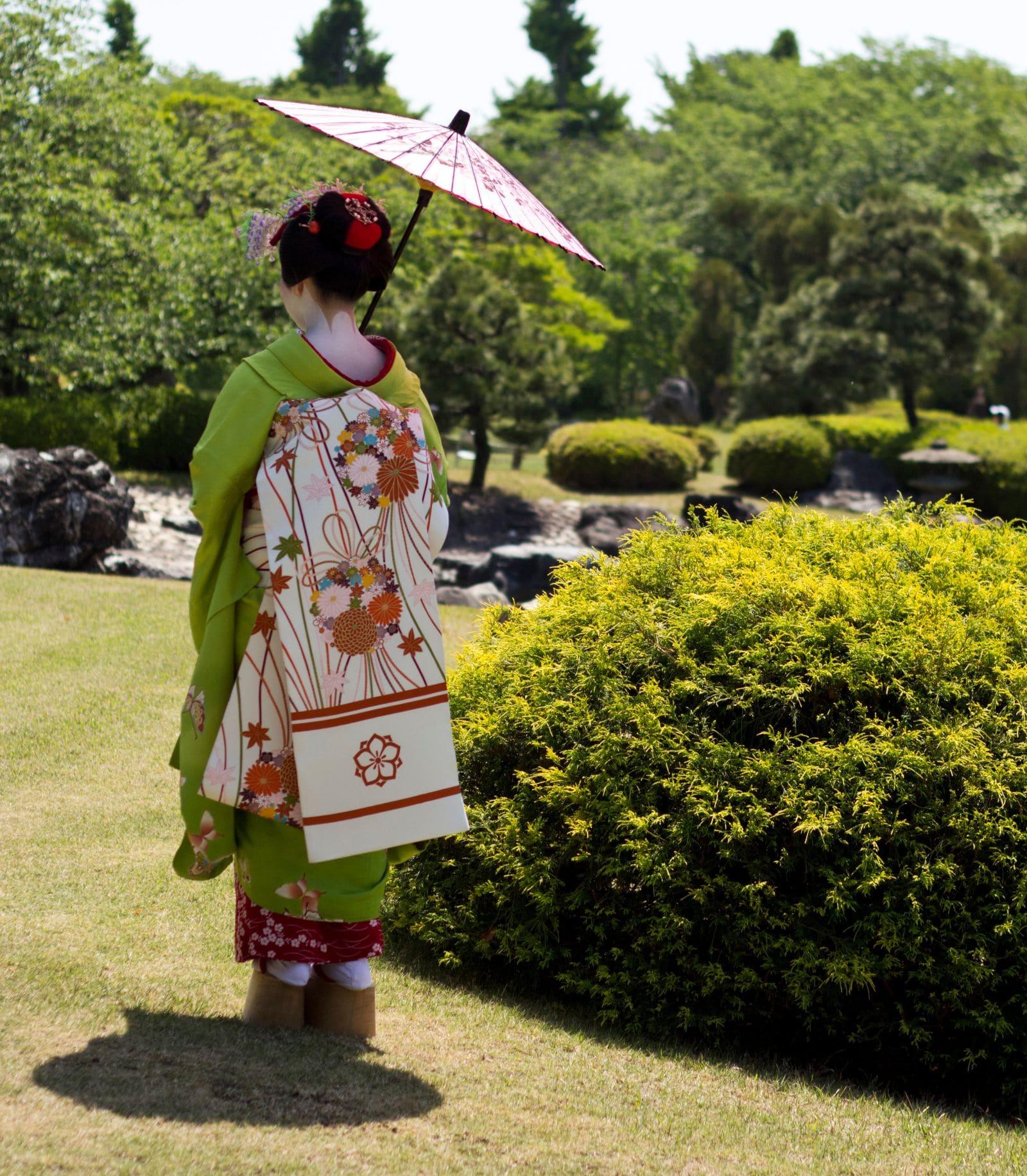 Maiko i Kyoto