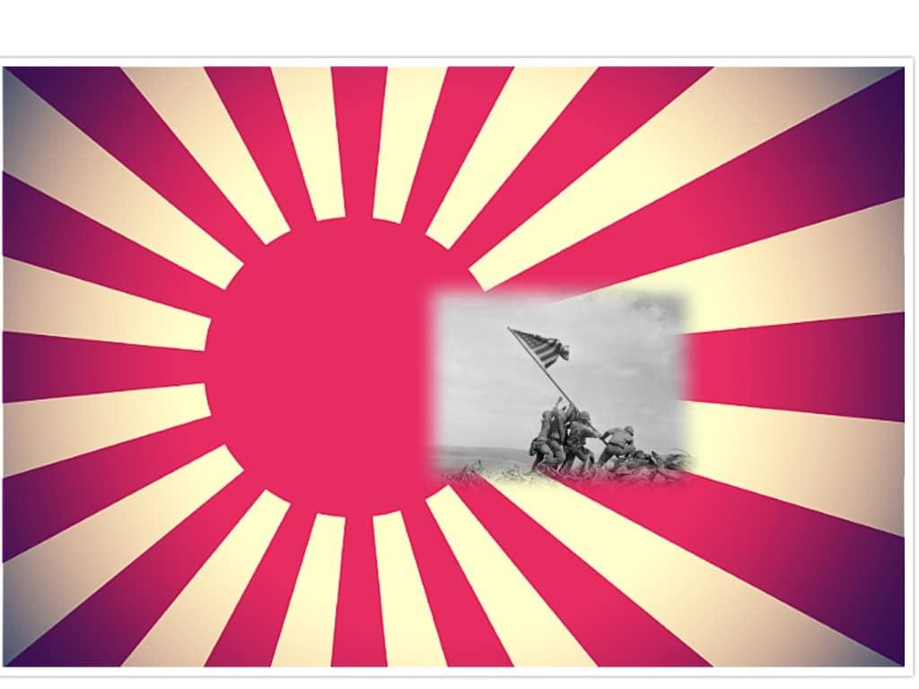 Japan krigsflagga