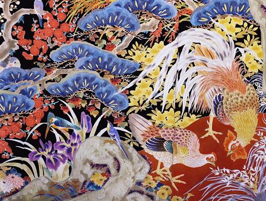 Kimonosilke från Kanazawa