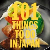 101 saker att göra i Japan