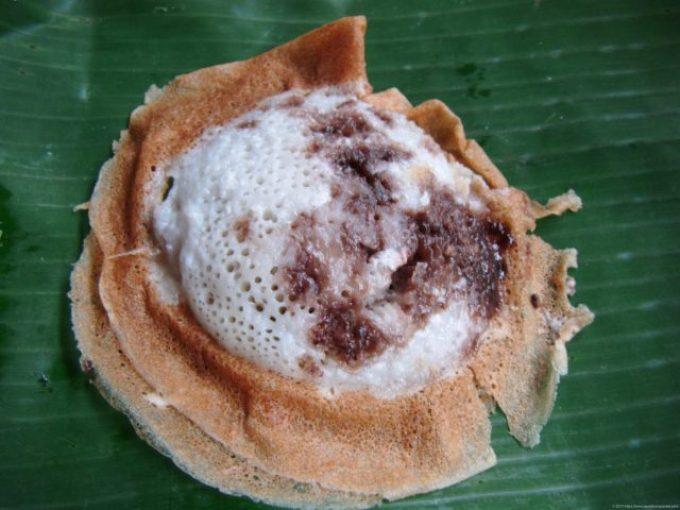 ジャワ島のココナッツ菓子