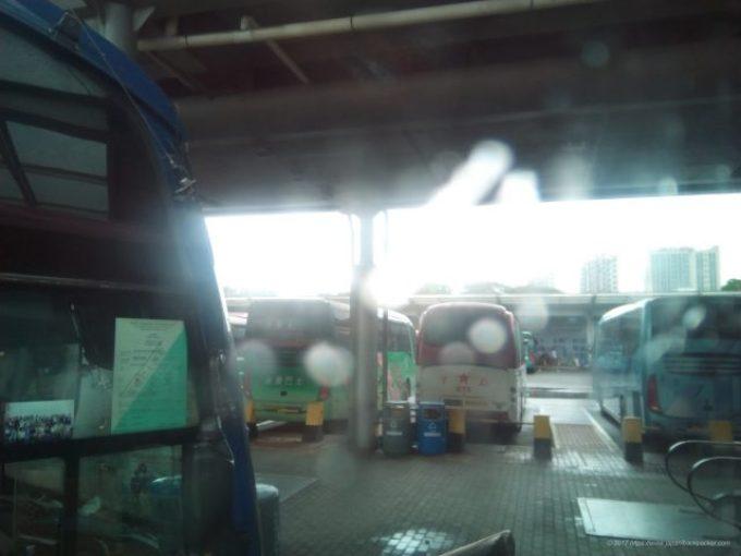 深センから広州に行くバス