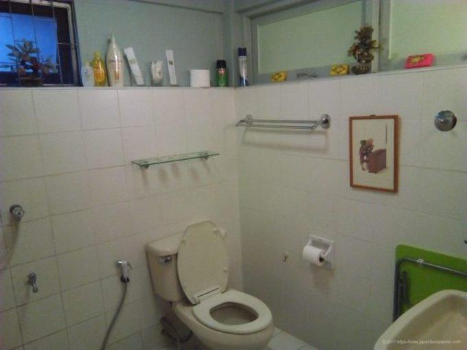 チェンマイのホテルBaan 5/9のバスルーム
