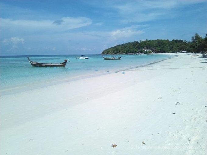 リペ島パタヤビーチ