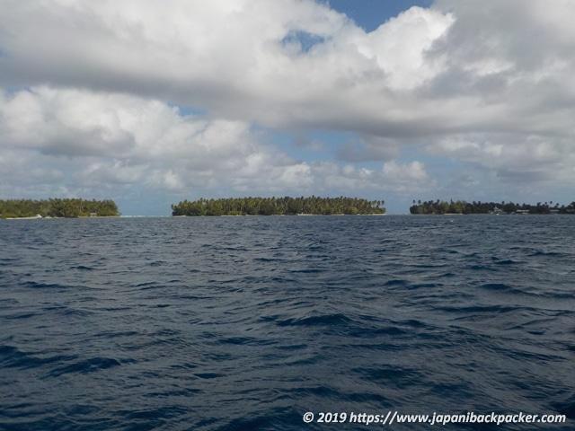 マーシャル諸島の離島