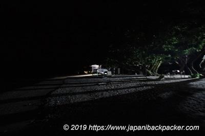 エネコ島の夜