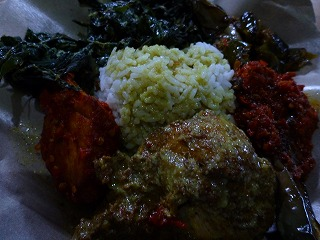 インドネシアの食事