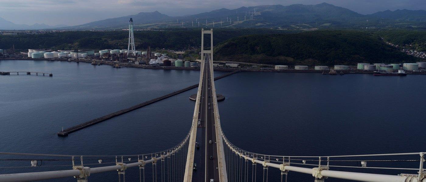 hotographing Muroran, Hokkaido, for NHK orld