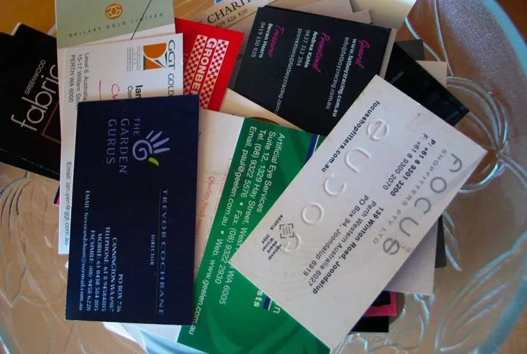 Carla Moore Speaks-Is It Good To  Have Business Cards - What Are The Benefits of Them?