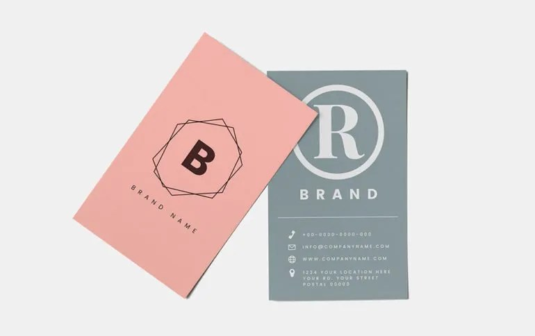 Spring Business Card Trends Top Five Ideas And Trends Of 2019