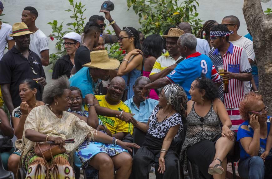 Afro-Cubans. many descendants of slaves. find pride. hope in Obama visit   The Japan Times